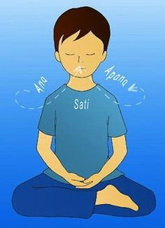 What is Anapana? - Anapana Meditation for Children and Teens Meditation Kids, Vipassana Meditation, Big Sur, Buddhism, Awakening, Helpful Hints, Insight, Mindfulness, Teen