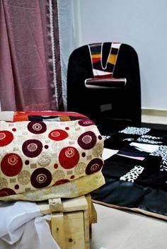 Art-deko AZK.  Objekte te linjave te ndryshme te dizenjuara nga Anila Zajmi-Katanolli (tapiceri,perde,pleid,tapet,kolltuk..) Miks materrialesh,(tekstili dhe lekure) autentike, hand-made.