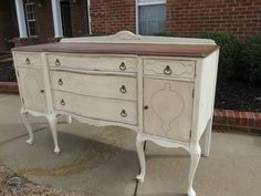 french country painted furniture | French Country Sideboard - the one I let get away. I really wish I ...