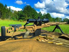 Cheytac makes some of the finest rifles and has created custom ammunition for these rifles. 375cheytac and 408cheytac are current record holding distance precision rounds.