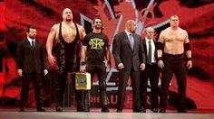 WWE The Authority: Triple H, Seth Rollins, Kane, Big Show, Jamie Noble & Joey Mercury
