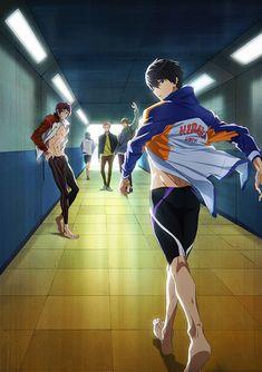 Free Dive To The Future Wallpaper Me Anime, Anime Manga, Anime Guys, Yuri Anime, Anime Demon, Kawaii Anime, Free Eternal Summer, Rin Free, Rin Matsuoka