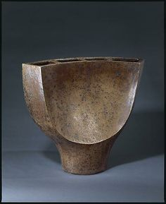 Gustave Tiffoche, Vase, c. 1968 - SOLD - La Borne - Magen Gallery