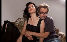 Alexandra Edenborough and Gary Oldman    perfect couples are perfect