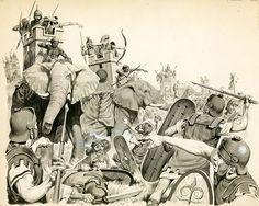 Hannibal (Original) art by Angus McBride Archive