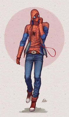 Little Red Riding Hood - Spider-Man by Axis *