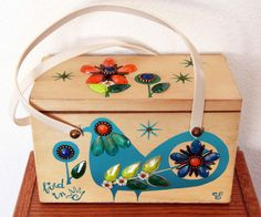 Enid Collins of Texas Bird in Hand Box Bag by niwotARTgallery, $130.00