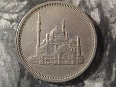 Egypt 1984 Coin 10 Piastres Mosque of Mohamed Ali by StarPower99, $5.80