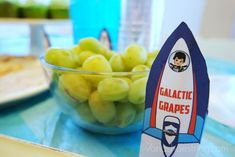 """""""Galactic Grapes"""" and other Disney Junior Miles from Tomorrowland party ideas"""