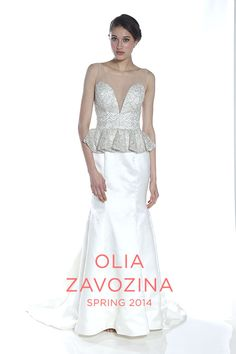 The Complete Olia Zavozina Wedding Dress Collection for Spring 2014