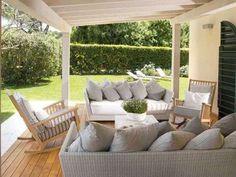 Tendaggi da esterno arredare portico patio pergolato tende per ...