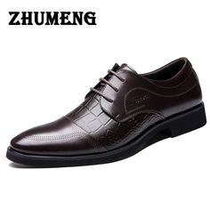 Check it on our site 2017 Fashion Men Pointed Toe Flats Shoes Summer Autumn Luxury Brand Lace Up Formal Wedding Dress Shoes Italian Leather Shoes Men just only $34.50 with free shipping worldwide  #menshoes Plese click on picture to see our special price for you
