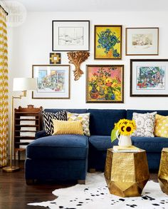 Designer Orsi Panos gives this townhouse a colourful facelift on a modest budget.