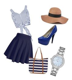 """Namornicky styl"" by jana-zy on Polyvore featuring Monsoon, Reiss and Geneva"