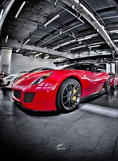 Red @Tricia Curreri 599 #LuxuryCars #CarPeople