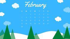 February 2021 Calendar Wallpaper