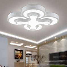 91.52$  Buy here - http://aliqan.worldwells.pw/go.php?t=32651649960 - 2/3/4heads led ceiling lights bedroom lamps  for living room bedroom lamp balcony ceiling light 90-260V