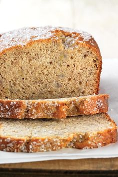 Gluten-Free Quick & Easy Banana Bread made with baking mix Recipe