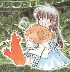 Fruits Basket~To Kyo with Fruits Basket Cosplay, Fruits Basket Manga, Fruit Basket Drawing, Manga Art, Anime Art, Whiskers On Kittens, Cute Themes, Cute Icons, Magazine Art