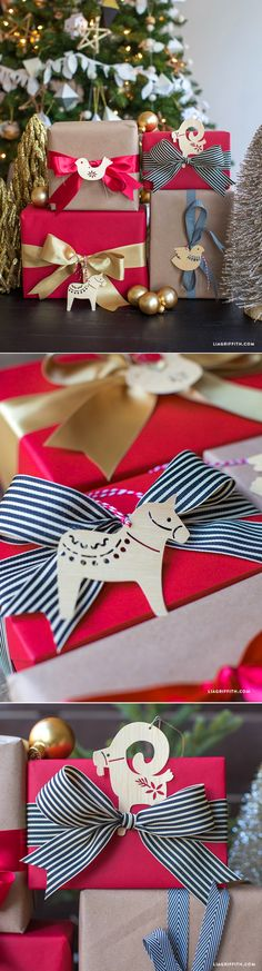 Luna Love | Fantastic Scandinavian paper tags from www.LiaGriffith.com ☽