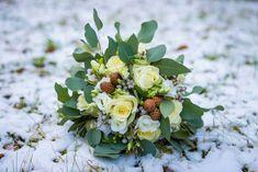 Winter wedding bouquet. Má svatební kytice..