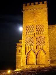 Castillo de Aracena  by night  Huelva