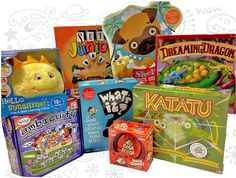 This week, three fans of the Parents' Choice Foundation and Absolutely Mindy of SiriusXM's Kids Place Live will win the game prize package shown above.