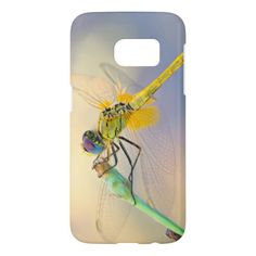 Colored dragonfly Samsung Galaxy s7 phone case