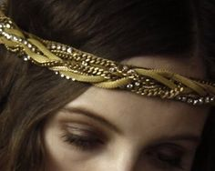Homemade Headbands  1.Pick out multiple string of different styles  2. Braid together enough that covers the measurements of your head size  3. Knot ends  4. Attach elastic band to each end of the braid by sewing  5. Wear it how you please!