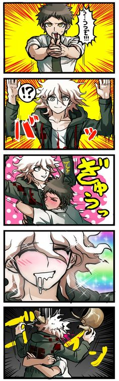 Hands up komaeda! ♡