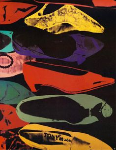 Andy Warhol, Diamond Dust Shoes, 1980 Andy Warhol: More at FOSTERGINGER @ Pinterest