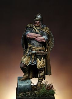 Explore the Vikings collection - the favourite images chosen by Nansaila on DeviantArt. Viking Art, Viking Warrior, Larp, Statues, Norse Vikings, Norse Mythology, Dark Ages, Toy Soldiers, Medieval Fantasy