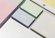 Agency branding brings pastel colours bang up to date.