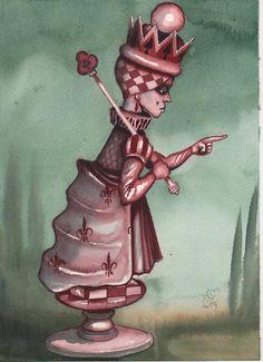 Illustrations to Alice in Wonderland Dominic Murphy