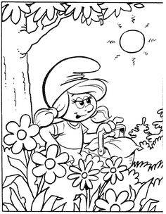 Coloring Pages Of Smurfs The Lost Vilege from Smurfs Coloring Page. Here, on our website, you have drawings of the Smurfs to color, paint, and print. Do you like Smurfs? Enjoy a while painting picture. Nemo Coloring Pages, Family Coloring Pages, Colouring Pics, Coloring Book Pages, Coloring Pages For Kids, Coloring Sheets, Disney Colors, Color Activities, Mandala Coloring