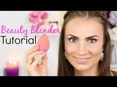 Beautyblender Tutorial | How To Use To Create A Flawless Face (Full Face Makeup Routine) - YouTube