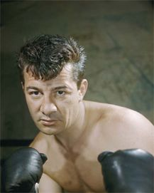 Thomas Rocco Barbella (January 1, 1919 – May 22, 1990), better known as Rocky Graziano, was an American boxer. Graziano was considered one of the greatest knockout artists in boxing history, often displaying the capacity to take his opponent out with a single punch. He was ranked 23rd on The Ring magazine list of the greatest punchers of all time. Click pic for his story...