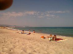 Platja de la Torre (platja d'Almassora) en Almazora, Valencia
