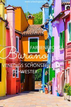 Die kleine Insel Burano macht alleine beim Durchstreifen der Gassen schon glücklich. Lest hier alles über die farbenfrohe Insel in der Nähe Venedigs.