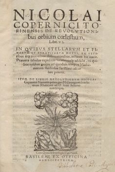 Dzieło Kopernika : De revolutionibus ...