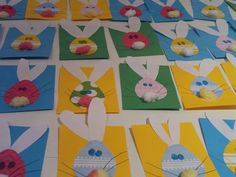 easter card table 2013