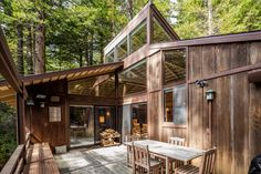 This week's properties include a modern house in California, a bungalow in Florida and a contemporary home in Montana. Sea Ranch California, California Homes, Modern Cottage, Cottage Farmhouse, House In The Woods, My House, California Architecture, Modern Shed, Wooden Houses
