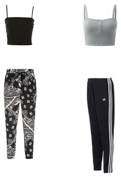 """""""Untitled #123"""" by gwboobear on Polyvore featuring Topshop, TIBI and adidas"""