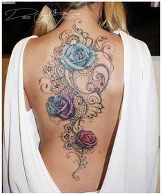 sexy tattoos for women ink ideas tätowierungen, wasserfa Body Art Tattoos, New Tattoos, Sleeve Tattoos, Tatoos, Wrist Tattoos, Celtic Tattoos, Small Tattoos, Sexy Tattoos For Women, Back Tattoo Women