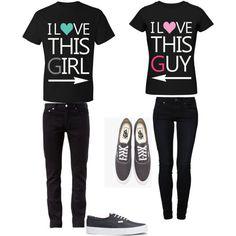 Boyfriend and Girlfriend Matching outfits