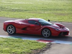Full Red LaFerrari, Fiorano 2014