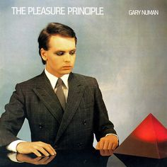 Airline from his first album, The Pleasure Principal. Gary invented synth pop and hailed an era of New Wave sound and Goth. Trent Reznor, Dream Pop, Joy Division, Indie Pop, Dave Gahan, Music Album Covers, Music Albums, Pop Albums, New Wave Music