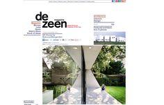 SH HOUSE has been published on DEZEEN! | Atelier van Wengerden