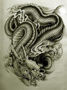 3d+dragon+tattoo | ... Dragon Tattoo Style 1 Awesome But Weird Oriental Dragon Tattoo Designs