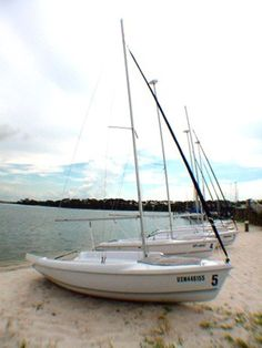 As a country boy from Kentucky, I had never even been a passenger on a sailboat.  In 1984, I visited the  Bayou Grande Marina on NAS Pensacola with the intention of learning to sail. It is well-protected cove and by trial and error worked myself up from a Laser dinghy,  to an American Sloop, to a Flying Scot. It felt very grown up, though I'm sure I looked like a clown.